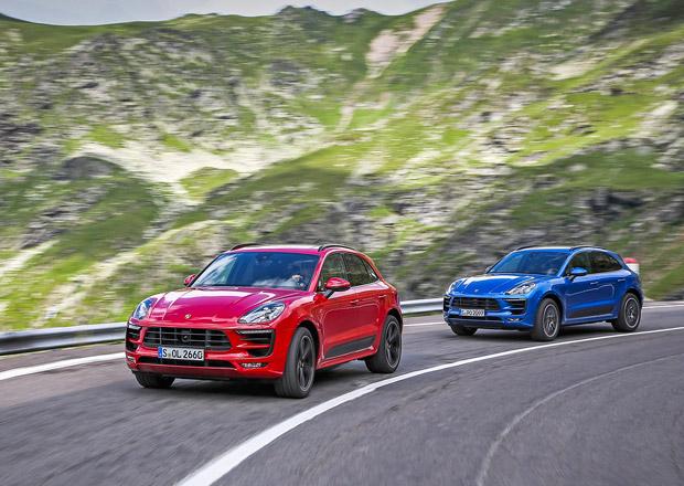 S Porsche Cayenne a Macan na nejkr�sn�j��ch silnic�ch Rumunska (+videa)