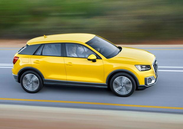 """Audi Q2: Předprodej """"drzého"""" crossoveru začne v srpnu"""