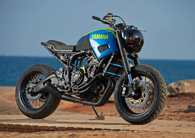 Yamaha XSR700 Otokamoe je pouliční rebel (+video)