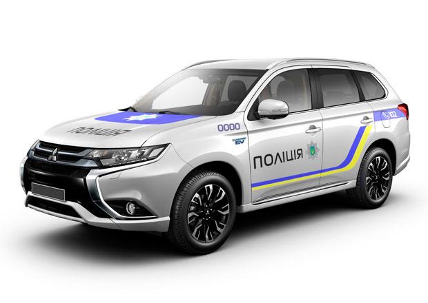 Mitsubishi Outlander PHEV: 651 aut pro ukrajinskou policii