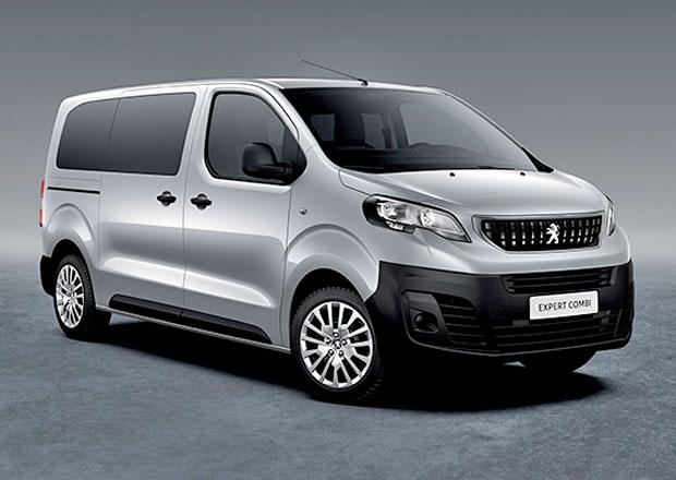 Peugeot Expert Combi: Nová osobní dodávka odhaluje české ceny