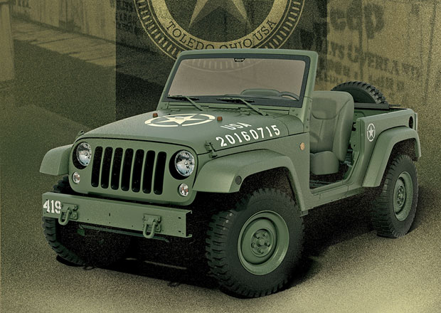 Jeep Wrangler 75th Salute jako pocta legendě (+video)