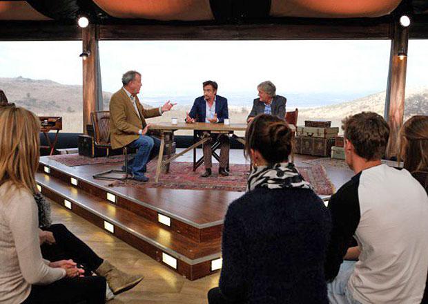 Grand Tour má za sebou první natáčení s diváky. Nová show Clarksona a spol. prý stojí za to