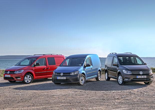 Dodávka Volkswagen na CNG: Caddy TGI