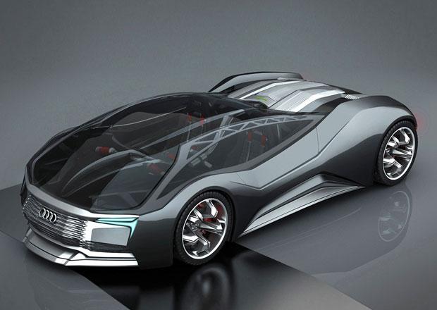 Audi Mesarthim F-Tron Quattro: Vize atomového auta. Z Ruska...