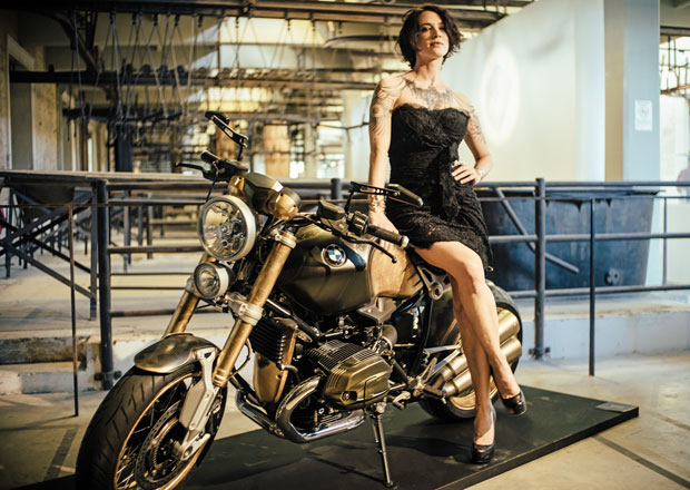 BMW R nineT Tattoo: Motorka od mistra v tetování