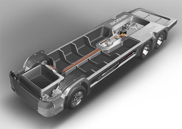 Scania: Kompozitní materiály v konstrukci podvozku
