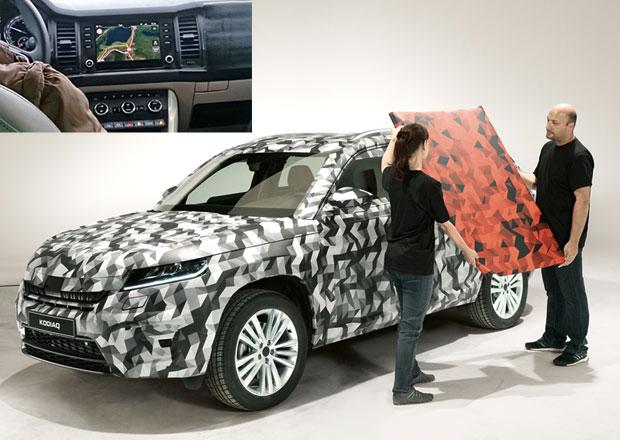 Škoda Kodiaq: Nové SUV se ukáže už na Tour de France. Známe i interiér