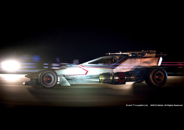 Hot Wheels X-Wing Carship: Vesmírná stíhačka na kolech (+video)
