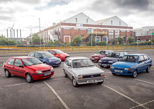 Ford Fiesta slaví 40 let. Historie malého hatchbacku ve velké fotogalerii