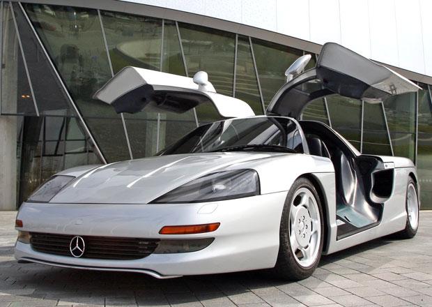 Mercedes-Benz C112 (1991): Pro� v�robu supersportu za��zli t�sn� p�ed spu�t�n�m?