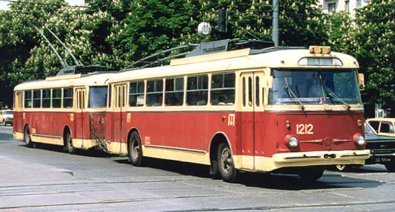 �koda Electric a 80 let v�roby trolejbus�