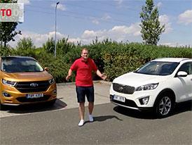 Vyzkoušeli jsme parkovací asistenty velkých SUV. Kde je problém? (video)