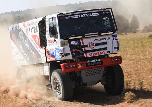 Buggyra na Baja Aragon 2016: Prokop poprvé v kamionu a hned na bedně!