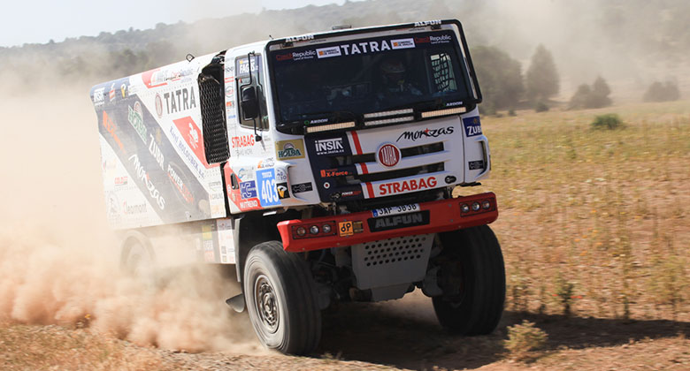 Buggyra na Baja Aragon 2016: Prokop poprv� v kamionu a hned na bedn�!