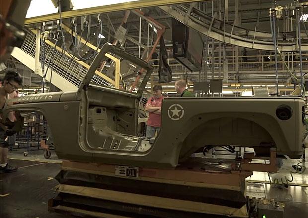 Video: Podívejte se, za jak dlouho se vyrobí Jeep Wrangler