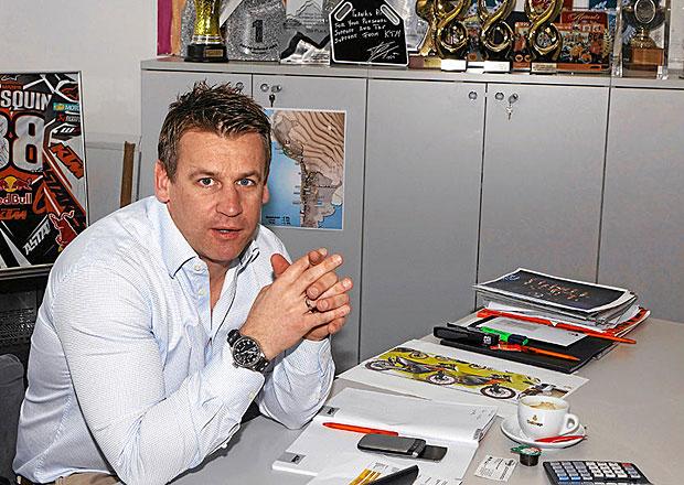 Šéf sportovní divize KTM Pit Beirer: I na vozíku mám šílené nápady