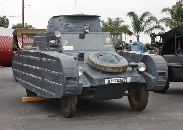 Porsche Type 823: Unik�tn� tank na prodej