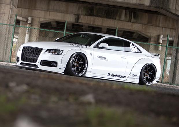 Audi A5 jako pouliční závodník od Liberty Walk