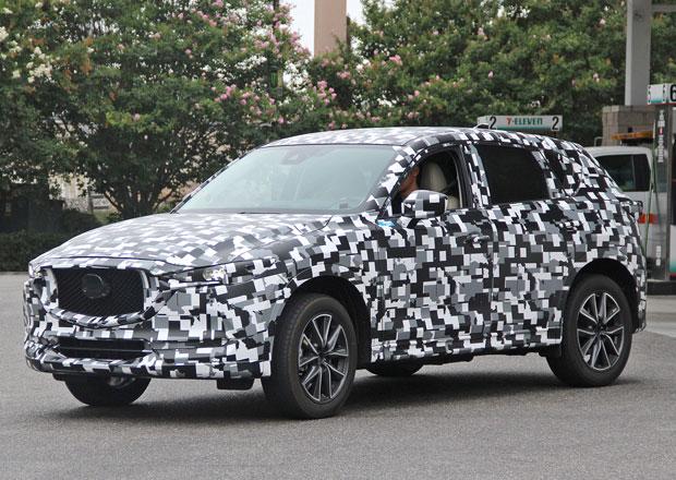 Spy photo: Nová Mazda CX-5 vypadá jako ze hry Minecraft