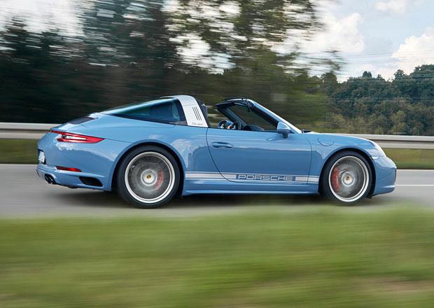 Porsche 911 Targa 4S Exclusive Design Edition vzpomíná na minulost