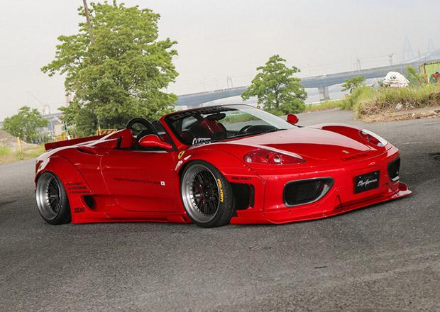 Ferrari 360 Spider v japonském stylu