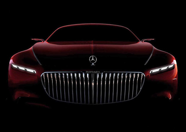 Mercedes-Maybach 6: Koncept superluxusního kupé na další upoutávce