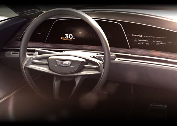 Cadillac oficiálně poodhalil nový koncept (+video)