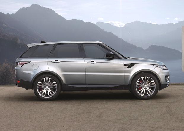 Range Rover Sport: Velké SUV nově s dvoulitrovým čtyřválcem...