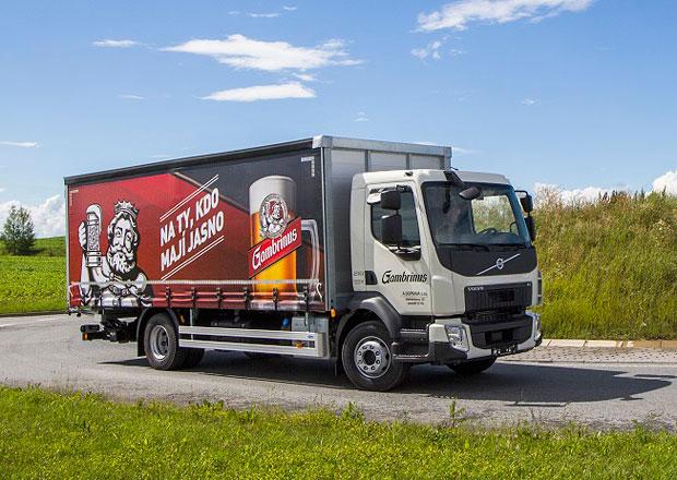 Volvo FL pro Plzeňský Prazdroj