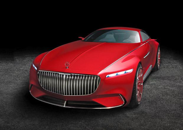Vision Mercedes-Maybach 6 oficiálně: Luxusní kupé monitoruje posádku