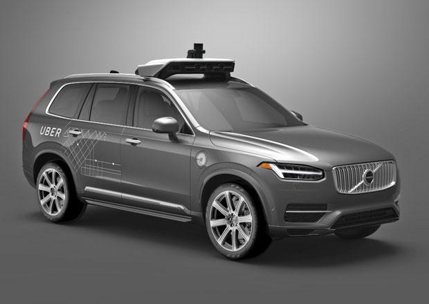 Volvo a Uber budou vyv�jet samo��d�c� auta. S taxik��i se u� nepo��t�...