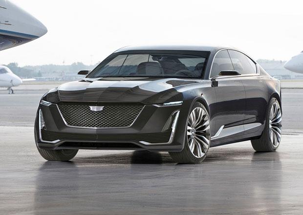 Cadillac Escala: Luxusní sedan? Ne, 5,3 metru dlouhý liftback!