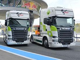 Scania a MotoGP spolupracuj� na sni�ov�n� emis�
