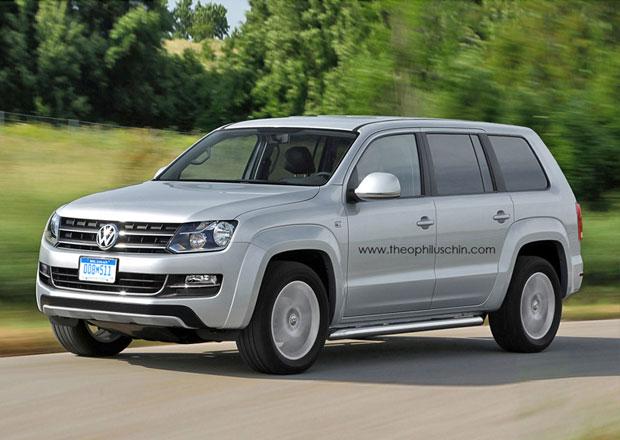VW pracuje na SUV s technikou Amaroku. Bude vypadat takto?
