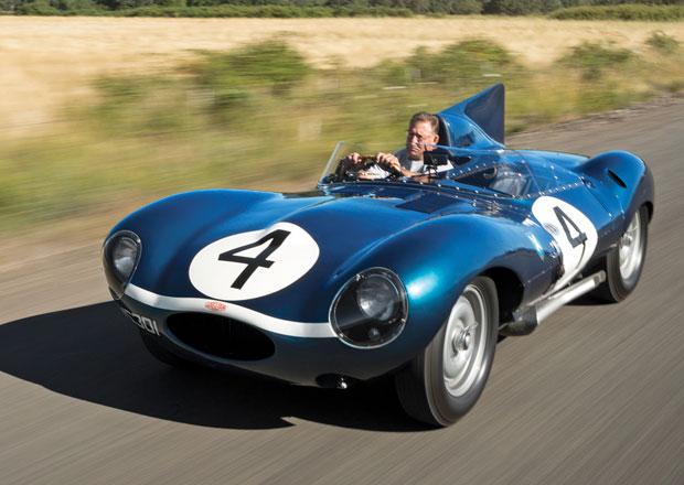 Jaguar D-Type: Nejdražší britské auto. Prodáno za půl miliardy!