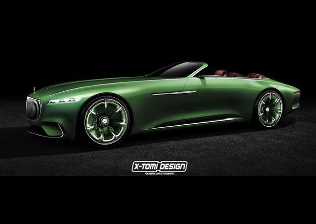 Vision Mercedes-Maybach 6 Cabriolet: Bez střechy ještě krásnější