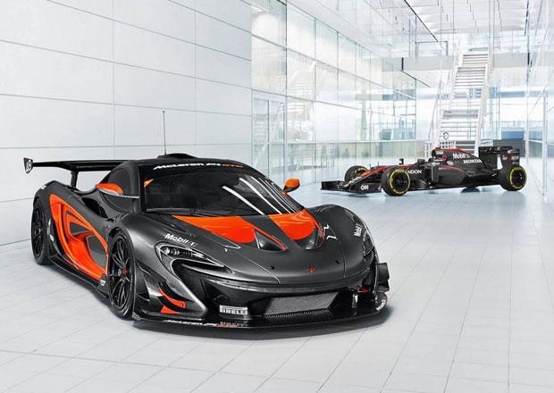 McLaren P1 GTR sladil barvy s monopostem McLaren-Honda MP4/31