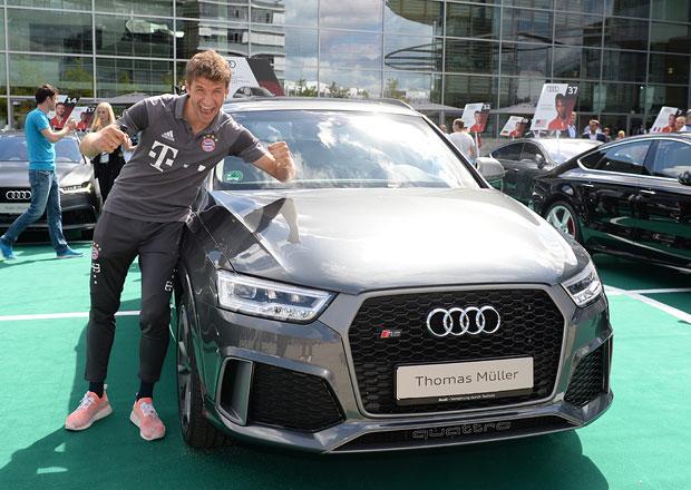Hráči Bayernu Mnichov dostali nové audiny. Jaké si fotbalové hvězdy vybraly?