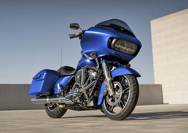 Harley-Davidson upravil odpružení a nabízí luxusní modely (+video)