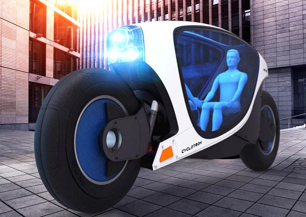 Cyclotron: Unikátní motocykl umí řídit sám (+video)