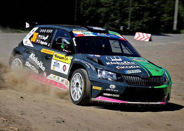 Racing 21 na Barum Rallye 2016: Den první – Postupně do první desítky