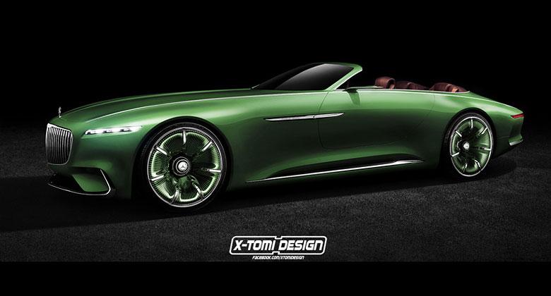 Vision Mercedes-Maybach 6 Cabriolet: Bez st�echy je�t� kr�sn�j��