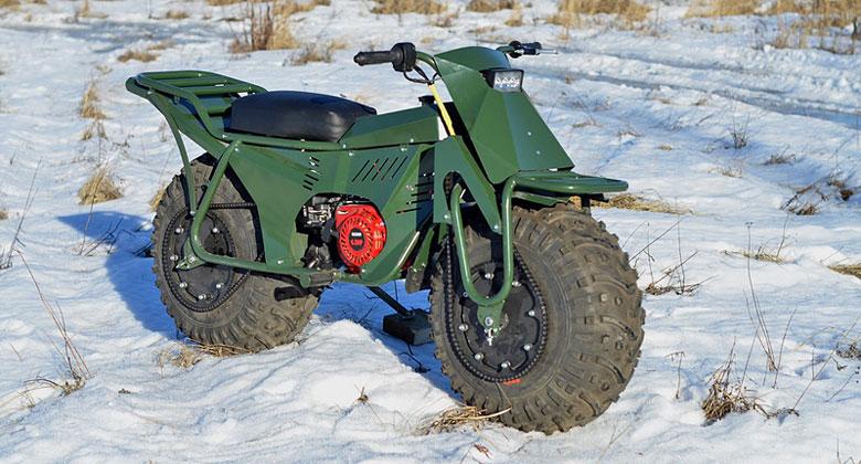 Skl�dac� rusk� motorka. Rozebran� za 5 minut a cena necel�ch 30.000 K�