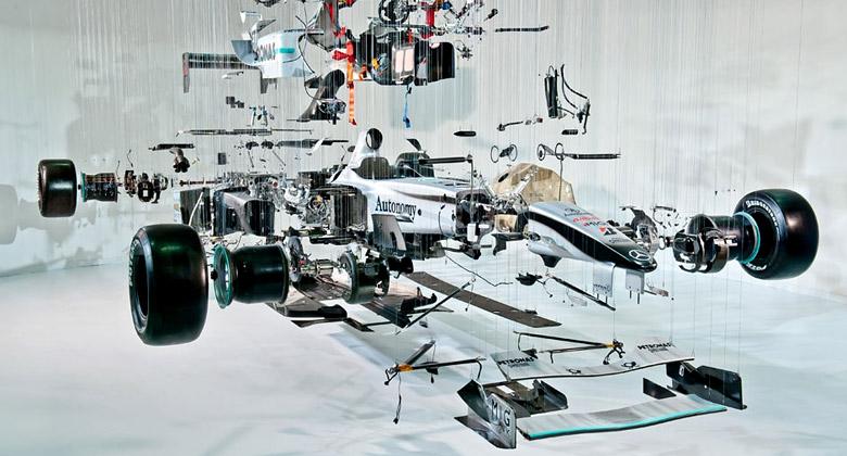 Formule 1 je pekeln� drah� sport. Kolik stoj� vybran� d�ly?