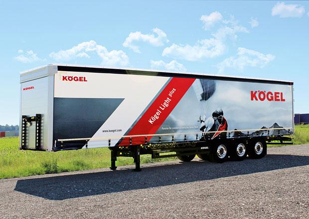 Kögel Light plus: Nižší hmotnost a vyšší nosnost