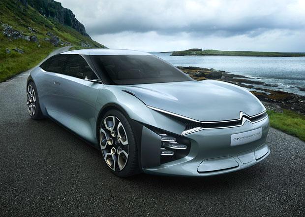 Citroën Cxperience je taková panamera po francouzsku. Ukáže se v Paříži (+video)