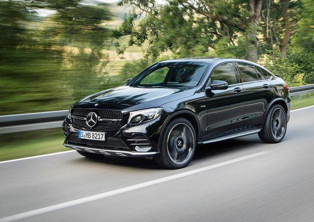 Mercedes-AMG GLC 43 Coupé má na mušce X4 M40i. Výkon mu nechybí!