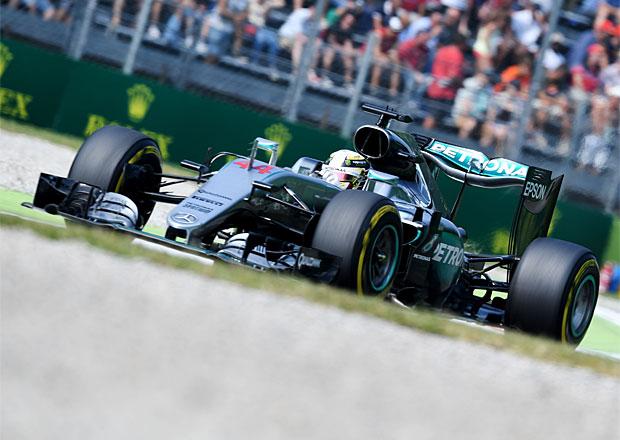 Kvalifikace VC Itálie F1 2016: Hamilton porazil Rosberga o takřka půl sekundy