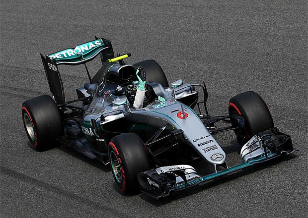 VC Itálie F1 2016: Rosberg využil špatného Hamiltonova startu